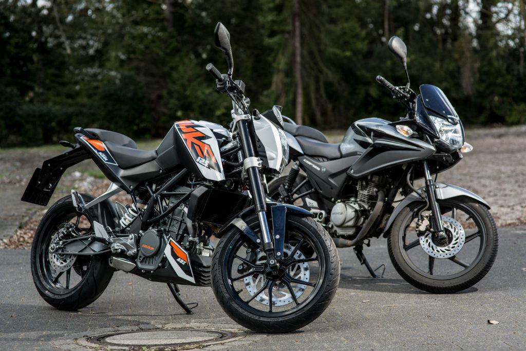 Honda CBF | KTM Duke