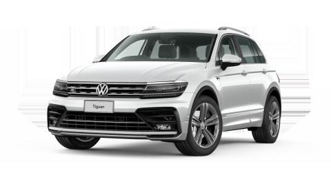 4 x VW Tiguan R-Line